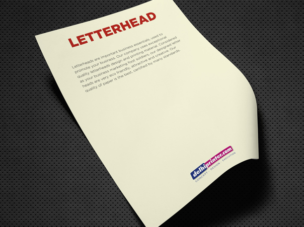 Exclusive letterhead at Lahore Printer